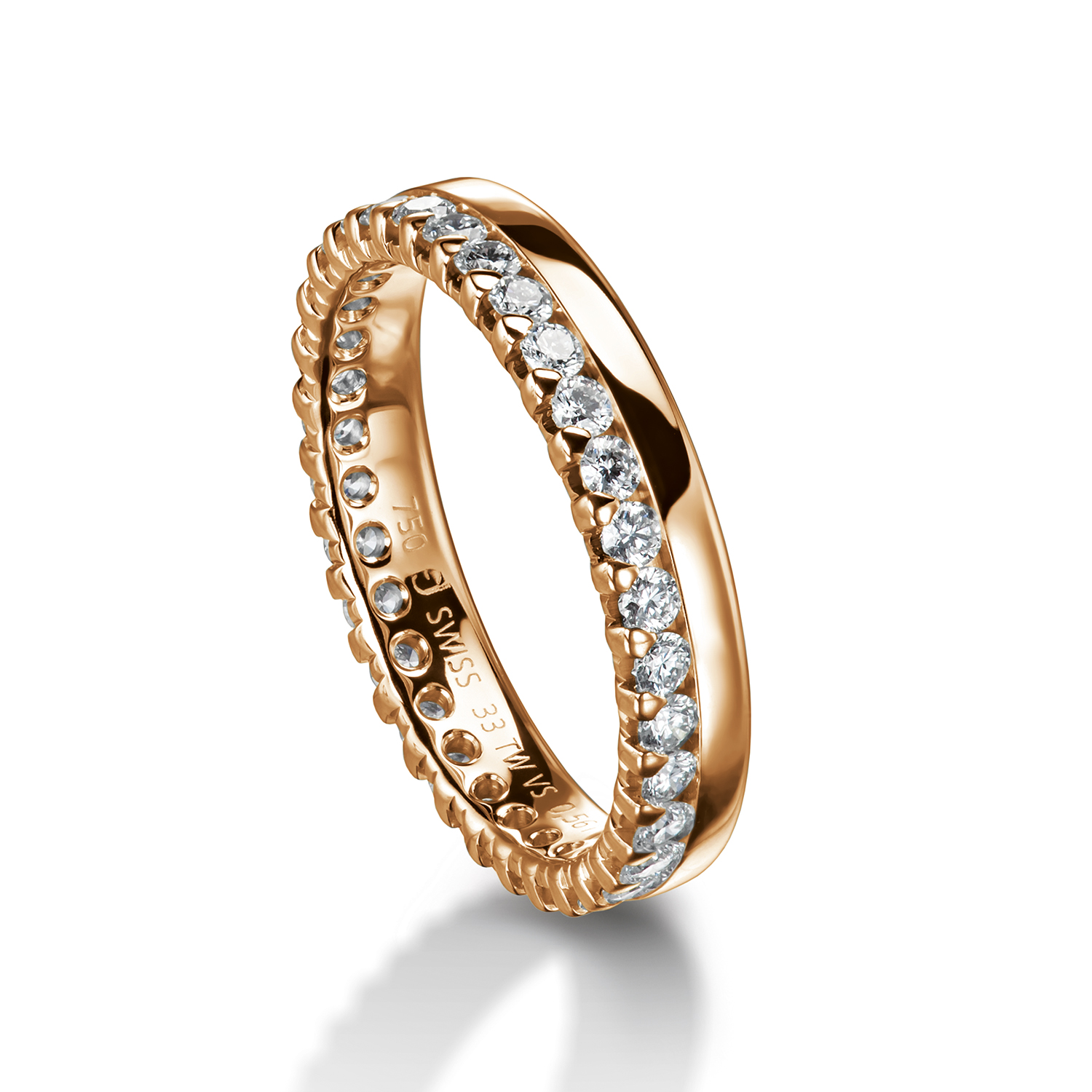 wedding bands, rings with diamonds in gold and platinum